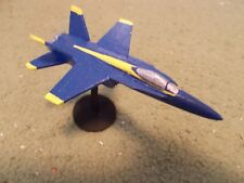 Built 1/144: American McDONNELL-DOUGLAS F-18 HORNET Aircraft US Navy Blue Angels