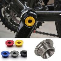 Threads Bike Bicycle Parts Crank Arm Screws Crankset Arm Bolt Chainwheel Crank