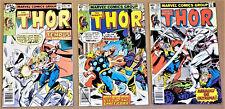 THOR #282, 284, 287 (Marvel 1979) High Grades