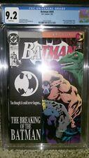 Batman #497 CGC Grade 9.2