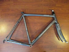 CANNONDALE OPTIMO R700 ROAD BIKE FRAME SET 56 CM SI ULTRA SLICE CARBON FORK