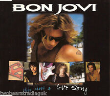 BON JOVI - This Ain't A Love Song (UK 3 Track CD Single) (Ex)