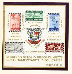 PANAMA - C47a - VF MNH S/S -  Olympics - 1938