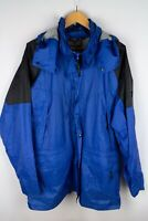 Salewa Men Parka Jacket Outdoor Hiking Waterproof Windproof Leisure size XL