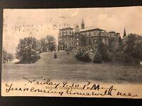 Vintage Postcard>1906>Wellesley College>Wellesley>Massachusetts