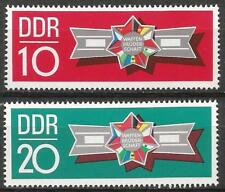 Germany (East) 1970 MNH - Comrades-in-Arms Warsaw Pact Military Manoeuvres