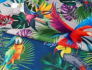 Parrots Pattern Waterproof fabric Outdoor Water Resistant Fabric Apparel Cushion