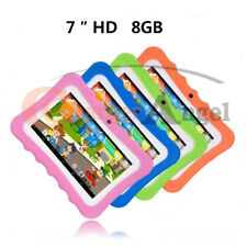 "7"" Tablet PC 8GB Android Wifi Quad Core Educational Apps Best Gift For Kids US"