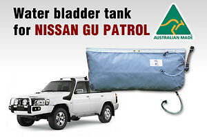Hanging water bladder tank(60 Ltrs) for NISSAN GU PATROL