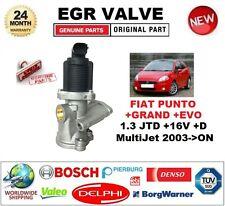 Para Fiat Punto 1.3 JTD +16 V + D Multijet + grand + Evo 2003 > VÁLVULA EGR 2PIN D-Forma
