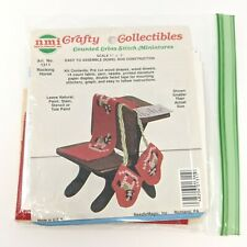 NMI Crafty Collectibles #1311 Rocking Horse Desk Mittens Miniatures