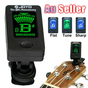 Clip On Chromatic OUD Violin Ukulele Banjo Bass Guitar Tuner