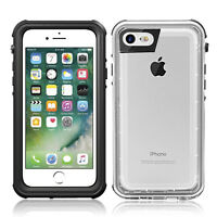 Waterproof Heavy Duty Armor Clear Case Cover For Apple iPhone 8 Plus 6 6S 7 Plus