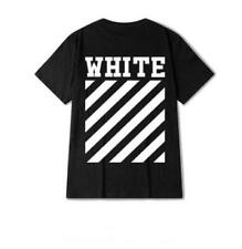Unisex Tee Off White VIRGIL ABLOH Yeezy BADGE DETAIL Mens T-Shirt Ferg Gosha NWT