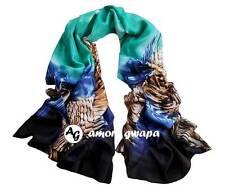 180*70 cm Long large Gradient colour Scarf Scarves Shawl Winter Wrap Warm New