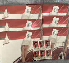 Lot of 6 Humphrey Bogart Envelopes: 1996 Tricky Envelopes & 6 32c Stamps, Unused