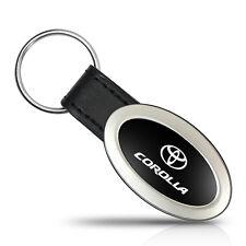 Toyota Corolla Oval Style Metal Key Chain Key Fob