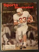 Sports Ilustrated January 11, 1965 Texas Upsets Alabama & Joe Namath