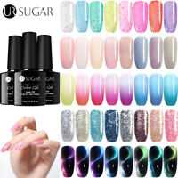 UR SUGAR 7.5ml Nagel Gellack Glitzer Holographisch Soak Off UV Gel Nagellack