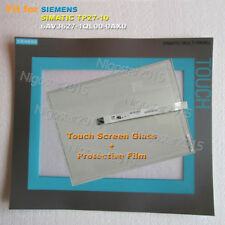 for SIEMENS TP27-10 6AV3627-1QL00-0AX0 Touch Screen Glass with Protective Film