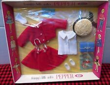 """EXTREMELY RARE~NIB~1964 IDEAL~JAPAN~*PEPPER* FASHION~""""MISS GADABOUT""""~9331-0~MINT"""
