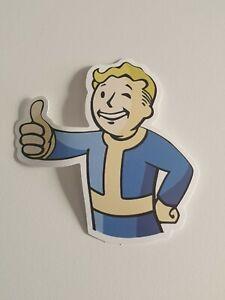 Fallout 4 Vault boy Pip-Boy Xbox One PS4 Console Vinyl Decal Sticker 70x70mm