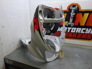 Suzuki Katana AY50 01> Front Fairing Panel Nose Cone Headlight Knee White SK4