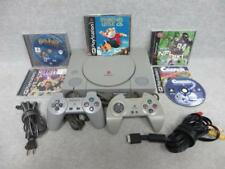 Sony PlayStation 1 Gray Console Bundle SCPH-7501 + 5 Games - STUART LITTLE 2