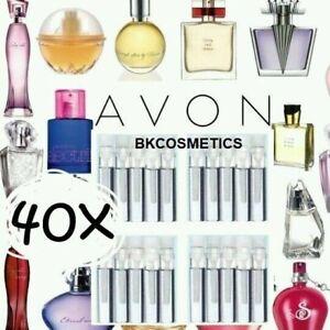 "☆40☆ Avon Ladies/ Womens Fragrance Perfume EDT Samples Assorted ""NOT IN BOTTLES"""