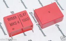 2pcs - WIMA MKS4 0.47uF (0.47µF 0,47uF 470nF) 1000V 5% pich:27.5mm Capacitor