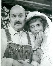 WERNER KLEMPERER NANCY KULP RETURN OF THE BEVERLY HILLBILLIES 1984 CBS TV PHOTO