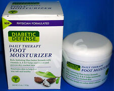 PediFix Diabetic Defense Daily Therapy Foot Moisturizer 4oz Shea Butter Cream