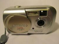 Olympus CAMEDIA C 160 3.2 MP Digital Camera - Silver