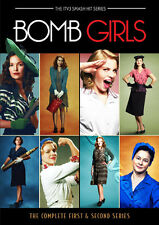 Bomb Girls (Complete Series 1 & 2) NEW PAL Cult 6-DVD Set Meg Tilly Jodi Balfour