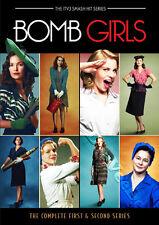 Bomb Girls (Complete Series 1 & 2) NEW PAL Cult 6-DVD Set Meg Tilly Jodi Balfour