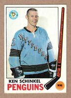 1969-70 Topps #117 Ken Schinkel Pittsburgh Penguins EX+ condition