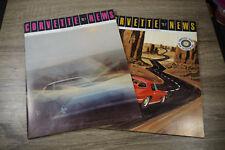 Lot of 2 Corvette News Magazine Vol. 10 No 6 & Vol. 11 No. 1