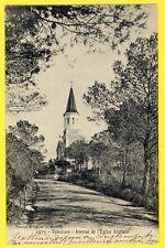 cpa SAINT RAPHAEL VALESCURE Avenue de l'EGLISE ANGLAISE English Church Devolder