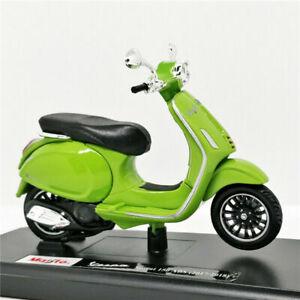MAISTO 1:18 Vespa Sprint 150 ABS 2017/2018 MOTORCYCLE BIKE DIECAST MODEL BOXED