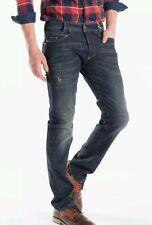 BNWT DIESEL W26 L32 Homme IAKOP 0R0JJ _ stretch effet vieilli Regular Tapered Jeans