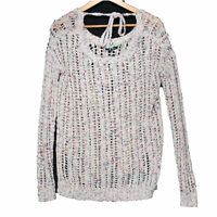 American Eagle Women's Multicolor Knit Wool Alpaca Blend Sweater - Size Small