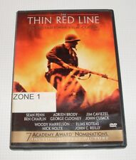 DVD - The Thin Red Line - Arien Brody - George Clooney - Region 1 - REDUCED!!