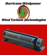 "12 Volt DC 8"" Crossflow Cooling Fan Solar Panel Wind Generator and Car Audio"