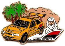Au choix 1 Pin's_Paris Dakar_Citroên Camel_Peugeot_Démons Merveilles ou Arthus B