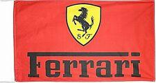 Ferrari Flag  red landscape  1500mm x 900mm (of)