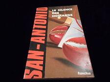 San Antonio 151 : Le silence des homards Editions Fleuve Noir janvier 1992