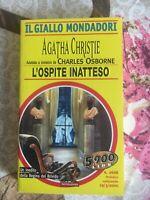 Agatha Christie L'ospite inatteso - il giallo Mondadori n. 2668