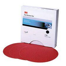 3m 1117 Rojo abrasivo Stikit™ Disco , 6 in ,40d, 25 discos por caja