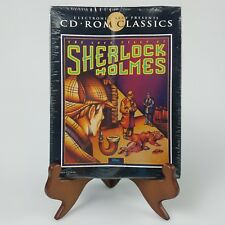 Sealed The Lost Files of Sherlock Holmes IBM PC Video Game 1992 CD