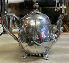 Antique James Dixon & Sons Silver Plated Teapot
